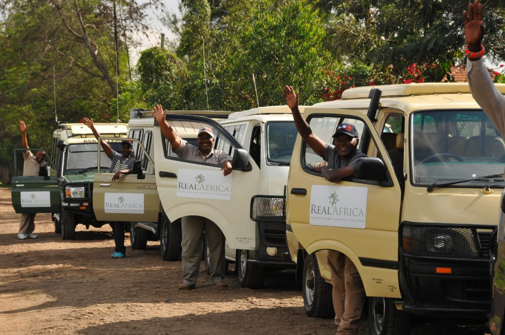 Real Africa guides and vehicles in Kenya