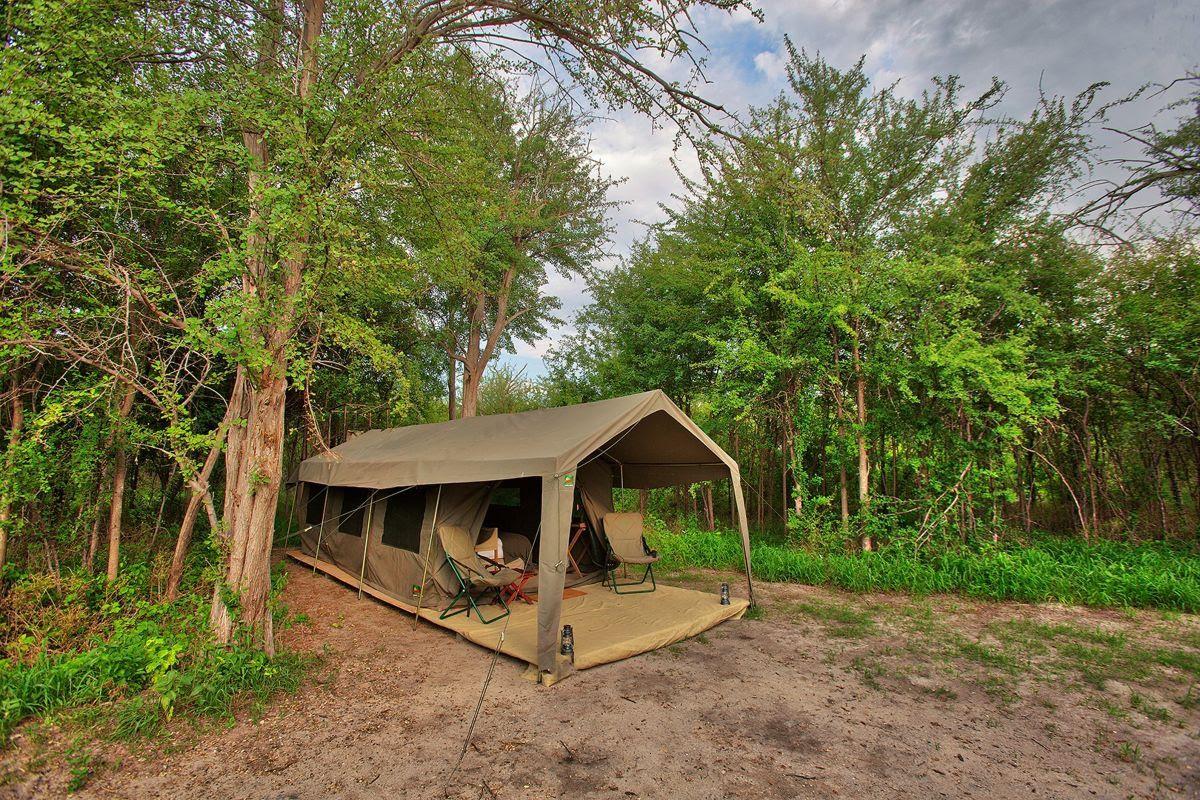 New MIGRATION EXPEDITIONS CAMP – NXAI PAN – BOTSWANA