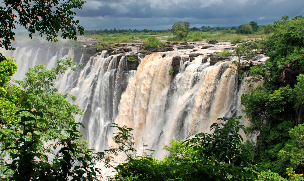 VICTORIA FALLS AT HIGHEST LEVEL IN A DECADE
